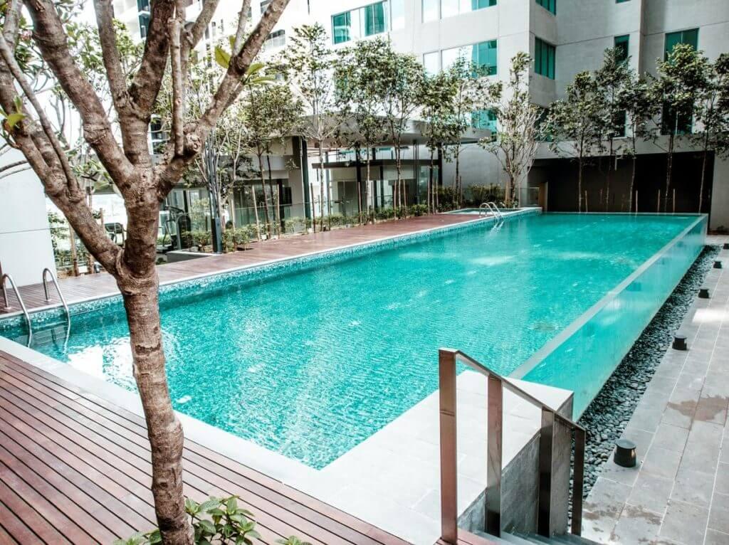 Goedkope Hotels met Rooftop Zwembad Kuala Lumpur Summer Suites Express