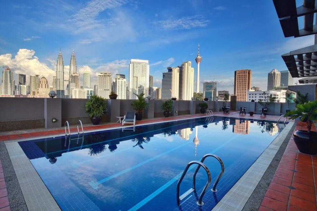 Goedkope Hotels met Rooftop Zwembad Kuala Lumpur The Regency Hotel