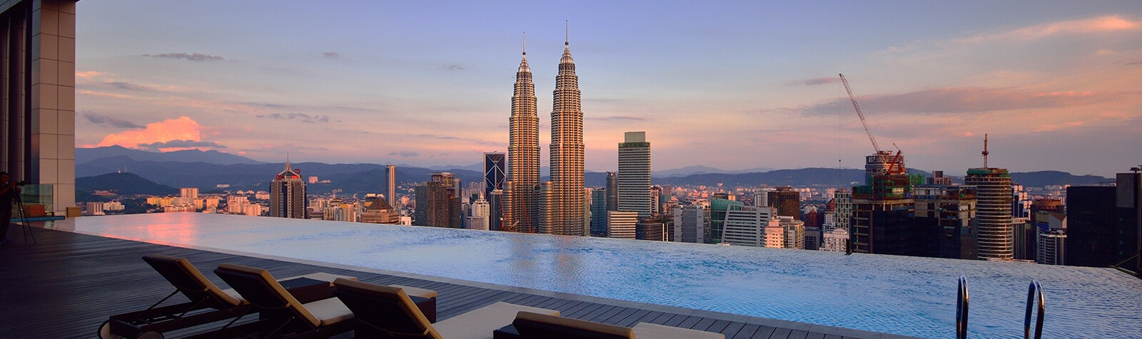 <strong>Hotels met zwembad in Kuala Lumpur.</strong>
