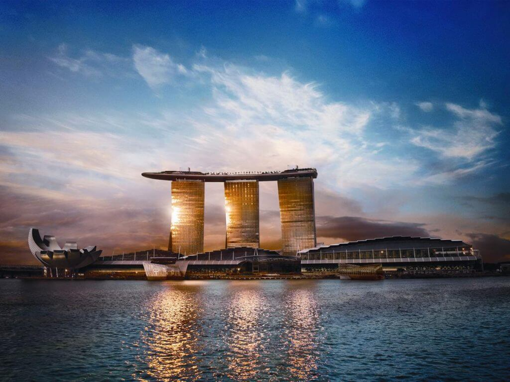 Marina Bay Sands beste en goedkoopste hostels in Singapore