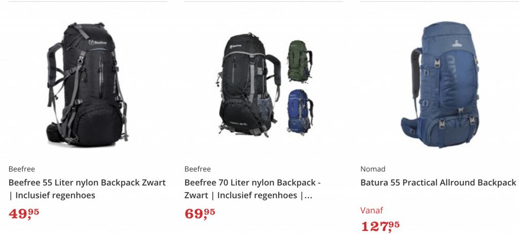 Beste backpacks