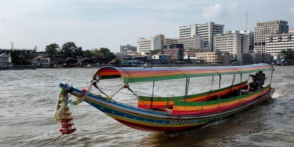 Boottocht-Bangkok