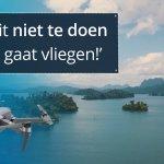 tips en regels drone mee op reis